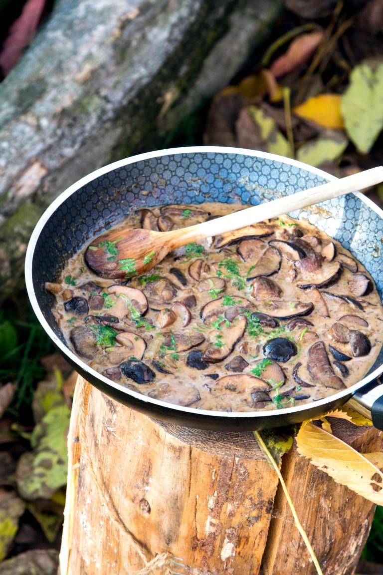 Die-beste-Pilzsauce-Maronen-Steinpilze-mit-Bier-Rezept-5
