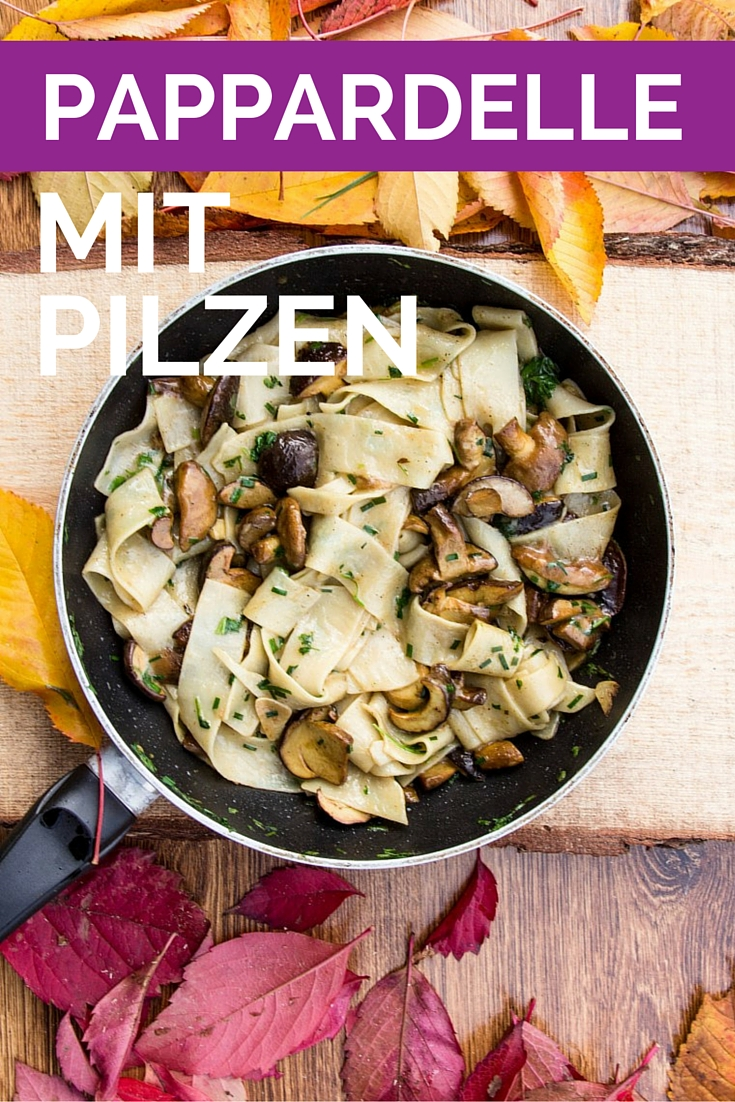 Nudeln-Pappardelle-mit-Pilzen-20