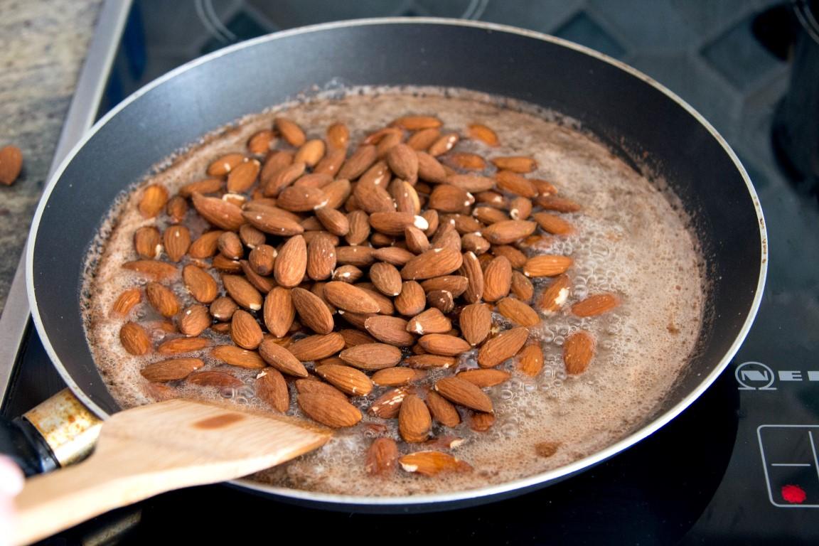 Gebratene mandeln mit zimt kaschula for Kochen temperatur