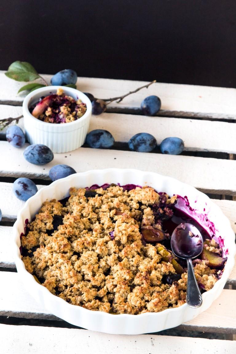 Rezept-Obst-gebacken-mit-einer-Haferflocken-Kruste-mit-Ahornsirup-7