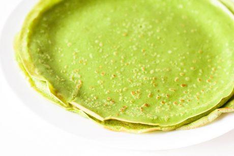 Grüne Pfannkuchen