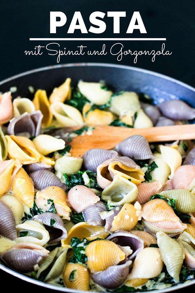 Pasta-mit-Spinat-und-Gorgonzola-Rezept-10