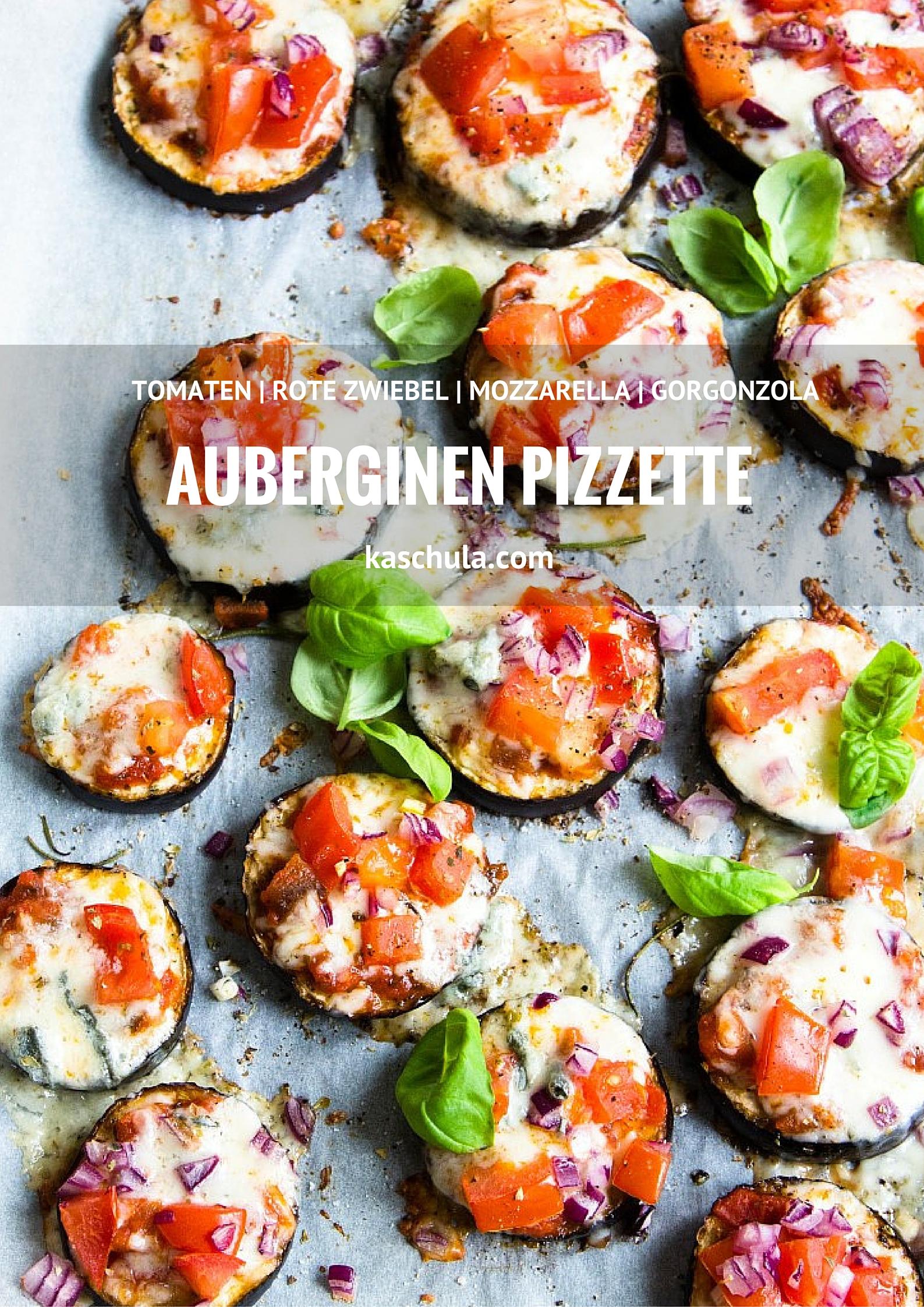 Auberginen-Pizzette-überbacken-Mozzarella-Gorgonzola-Tomate-Rezept-22