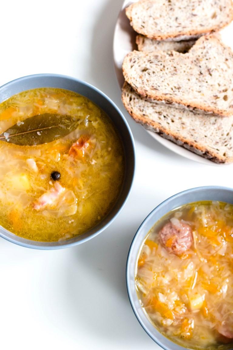 Sauerkrautsuppe-polnische-Rezepte-06