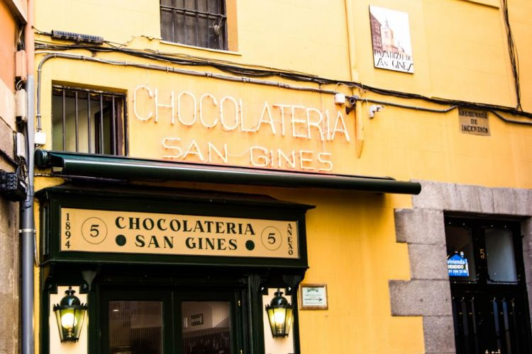 Chocolateria-Churreria-Spanien
